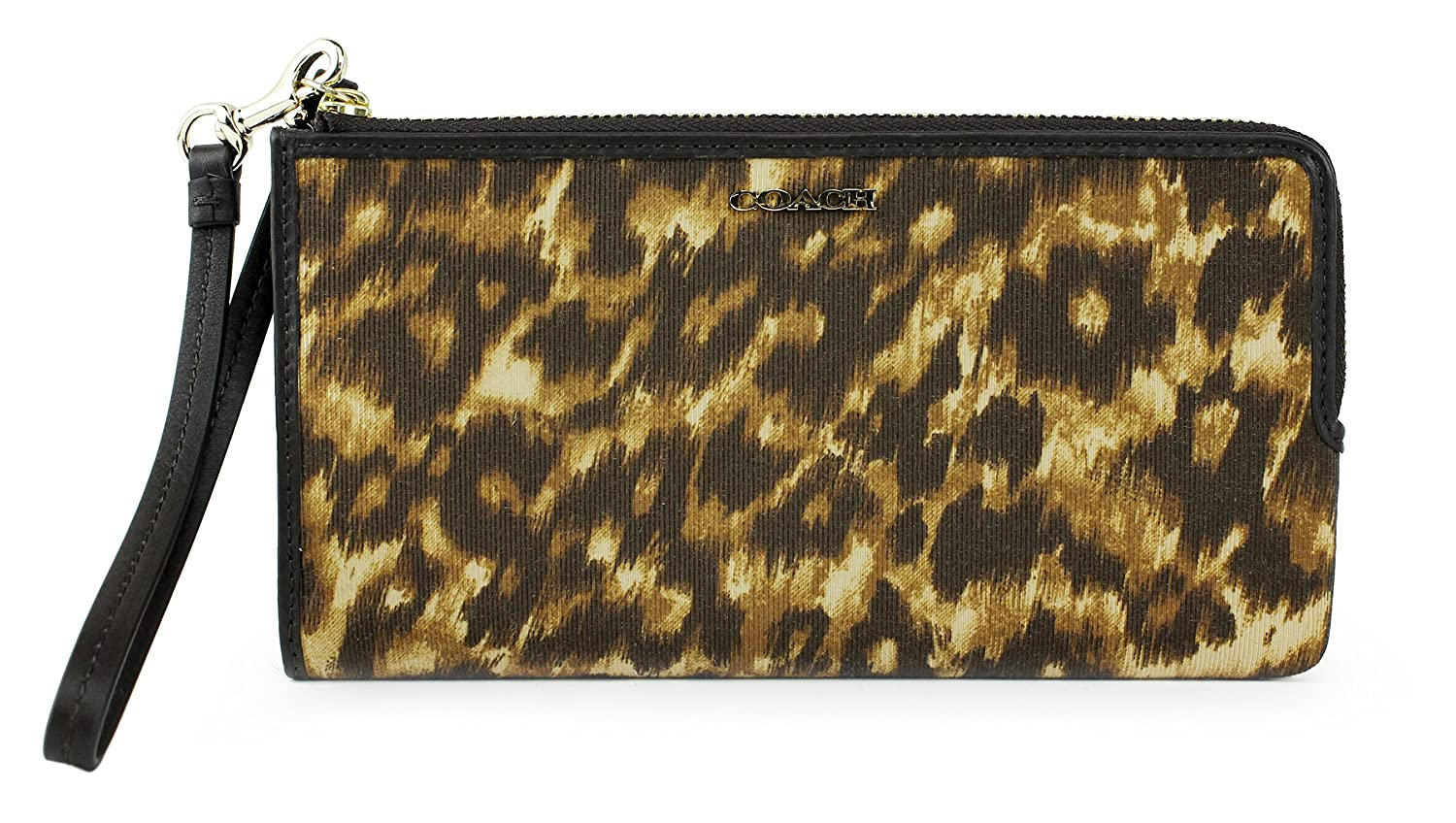 Coach Madison Ocelot Print Zippy Wallet, Style 52099