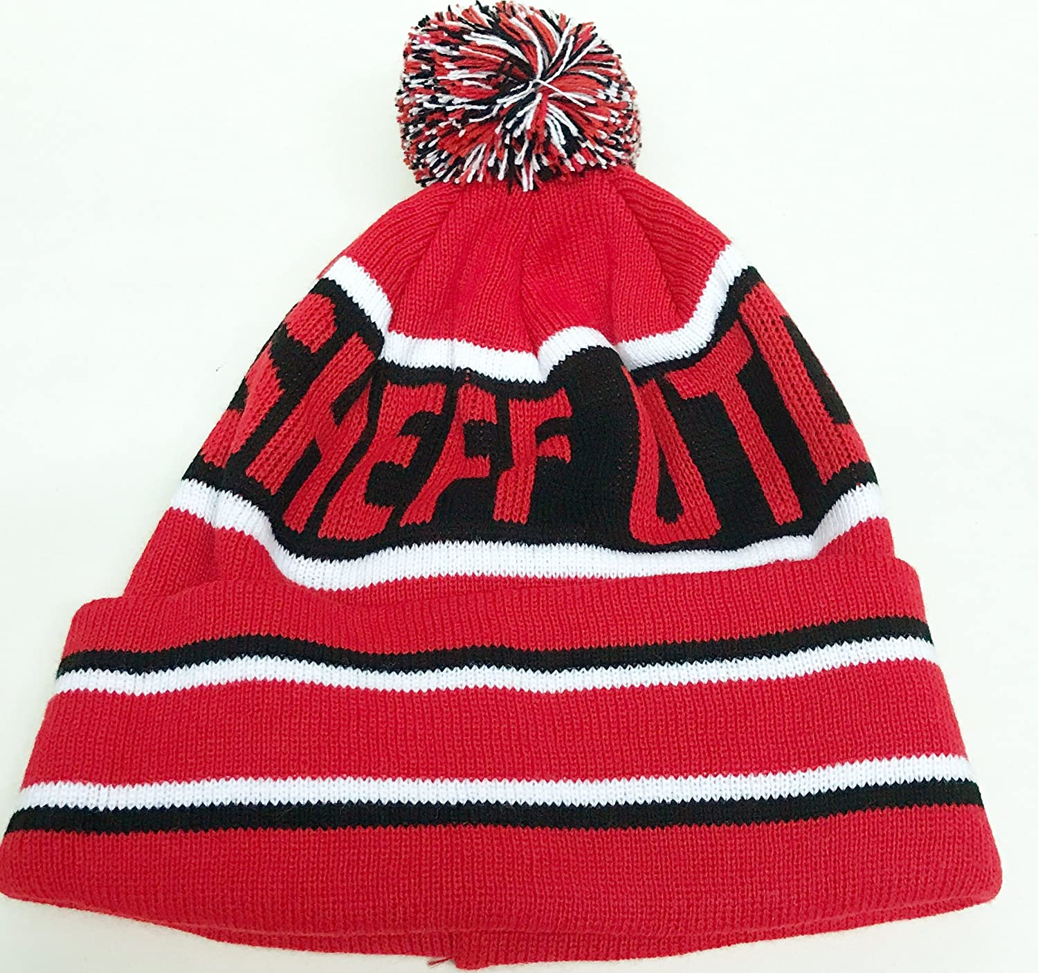 0fd9896cb27 simpsonsfootball Sheffield United Bobble Pom Pom Hat  Amazon.co.uk  Sports    Outdoors