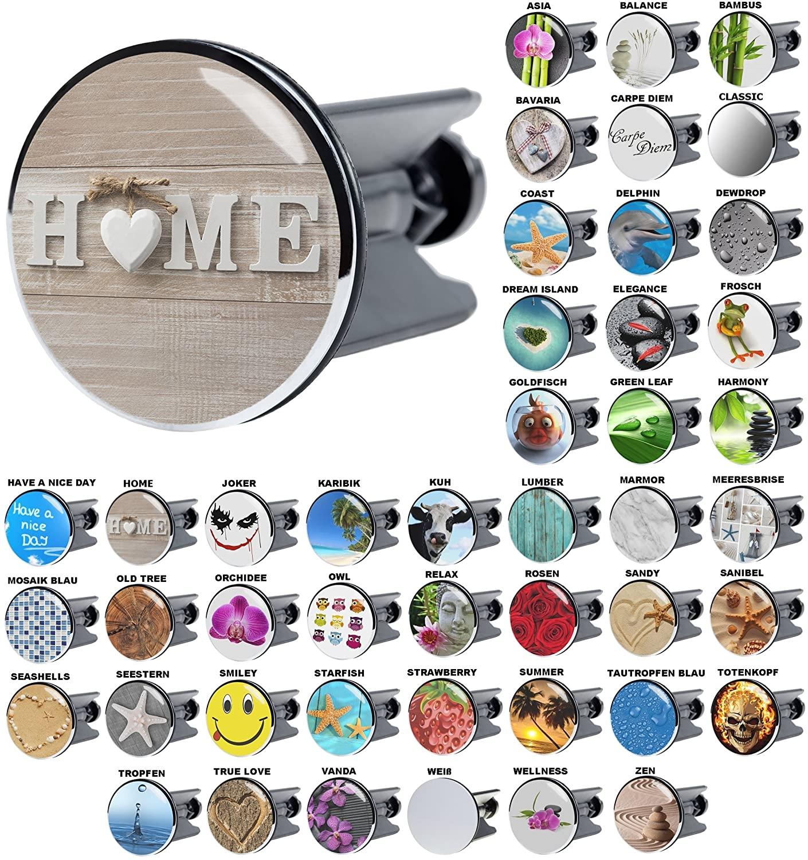 hochwertige Qualit/ät ✶✶✶✶✶ Waschbeckenst/öpsel Zen viele sch/öne Waschbeckenst/öpsel zur Auswahl