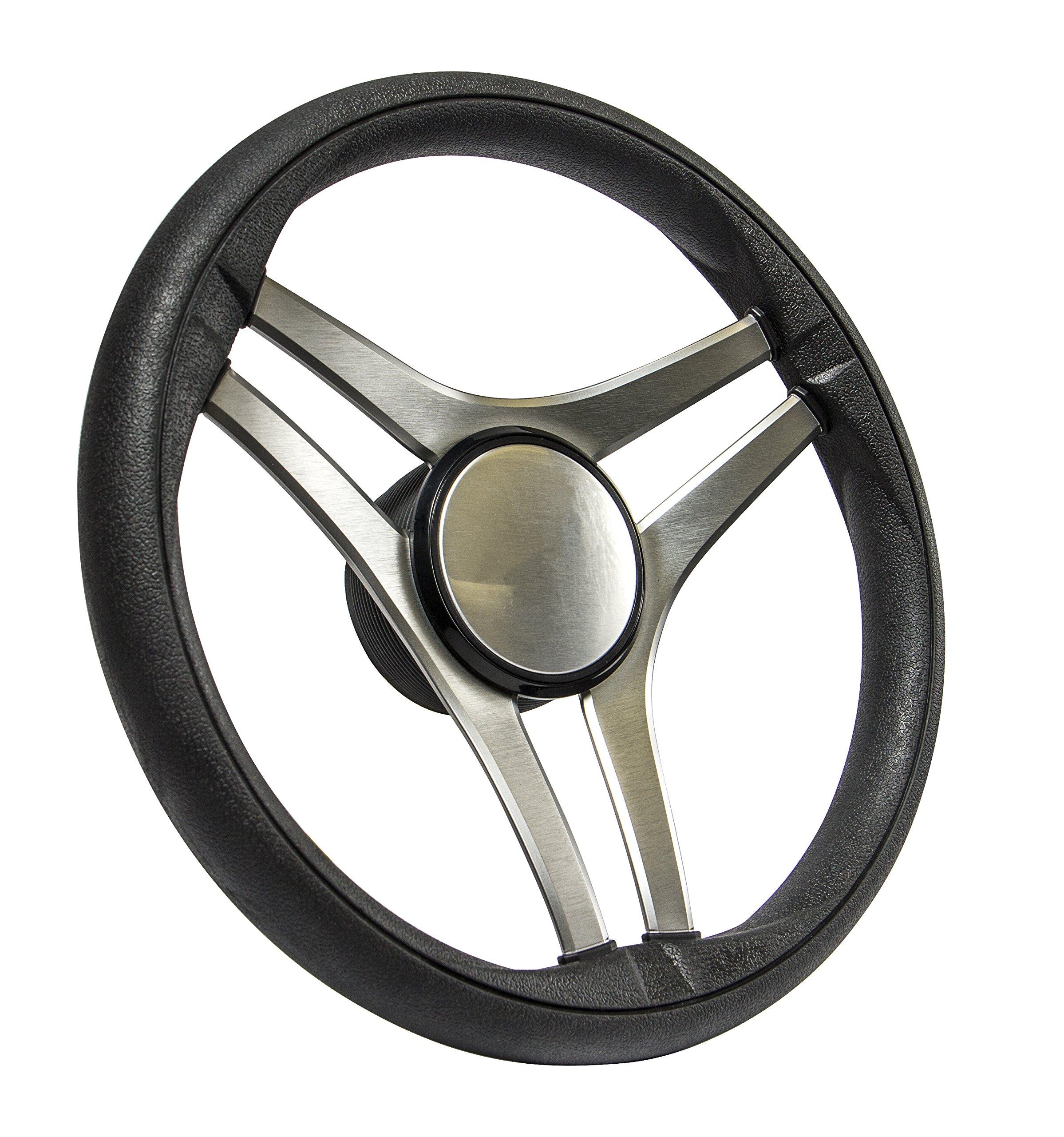SeaStar Molinara SW60300P Steering Wheel, Molinara 13-1/2 inch, 3 Spoke Equidistant by SeaStar