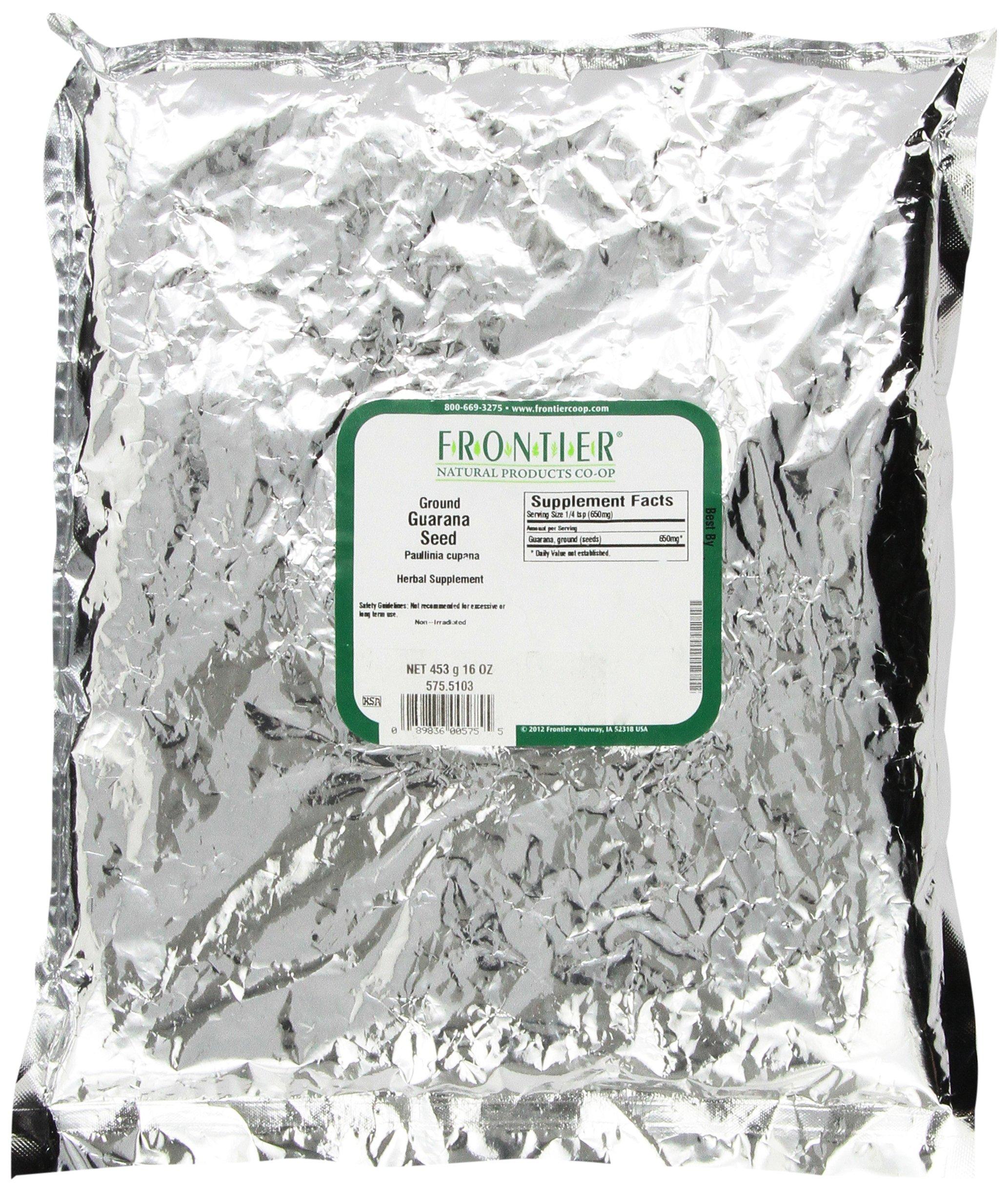 FRONTIER SO Guarana Seed Powder, 16 OZ
