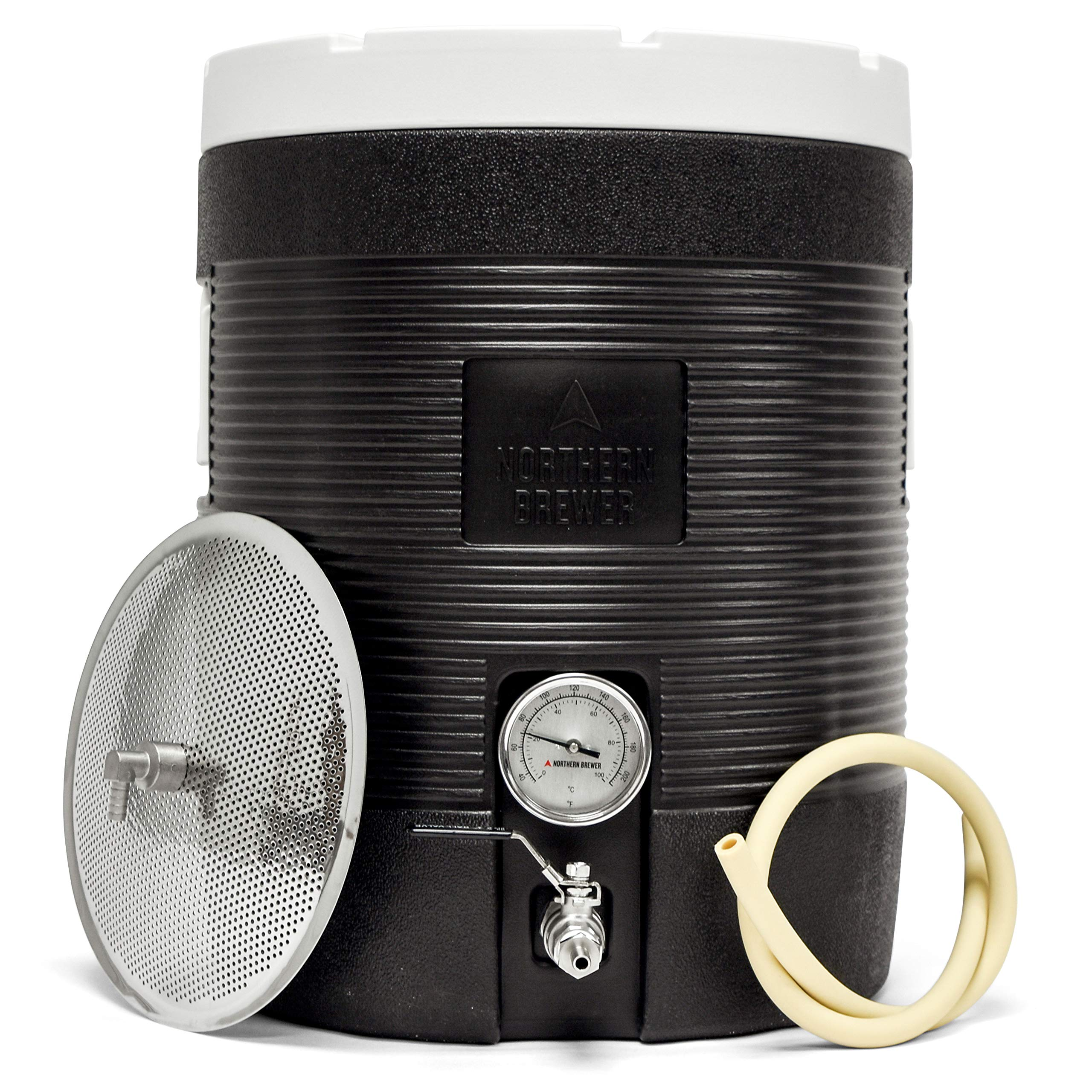 Northern Brewer - Fermenter's Favorites Insulated Cooler Essential All Grain Beer Brewing Kits (12 Gallon Mash Tun)
