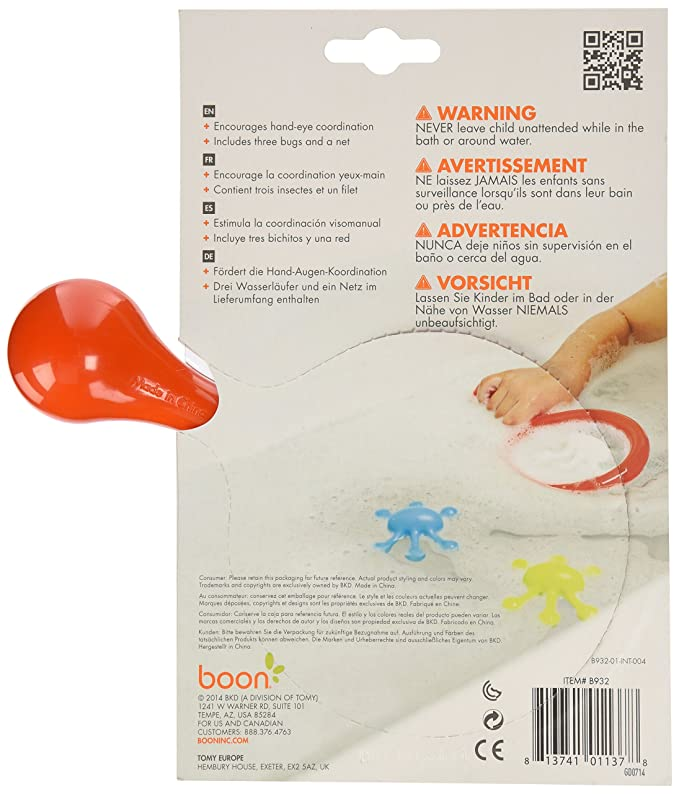Boon Orange Water Bugs Bath Toy: Amazon.co.uk: Toys & Games
