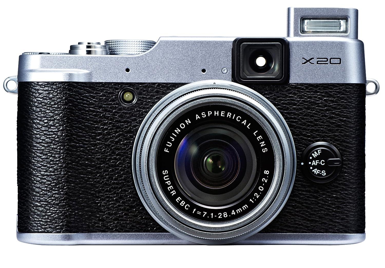 Amazon.com : Fujifilm X20 12 MP Digital Camera with 2.8-Inch LCD (Silver) :  Point And Shoot Digital Cameras : Camera & Photo