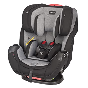 Evenflo Platinum Symphony Elite All In One Car Seat Ashland Gray