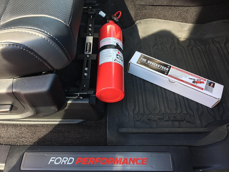 Car Fire Extinguisher >> The Bracketeer Car Fire Extinguisher Bracket Universal Design Fits Most Vehicles