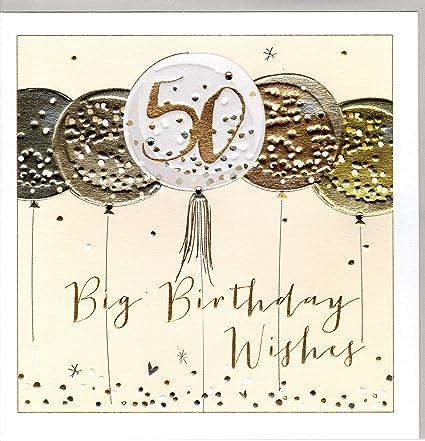 Belly Button Designs - Tarjeta de felicitación de 50 ...