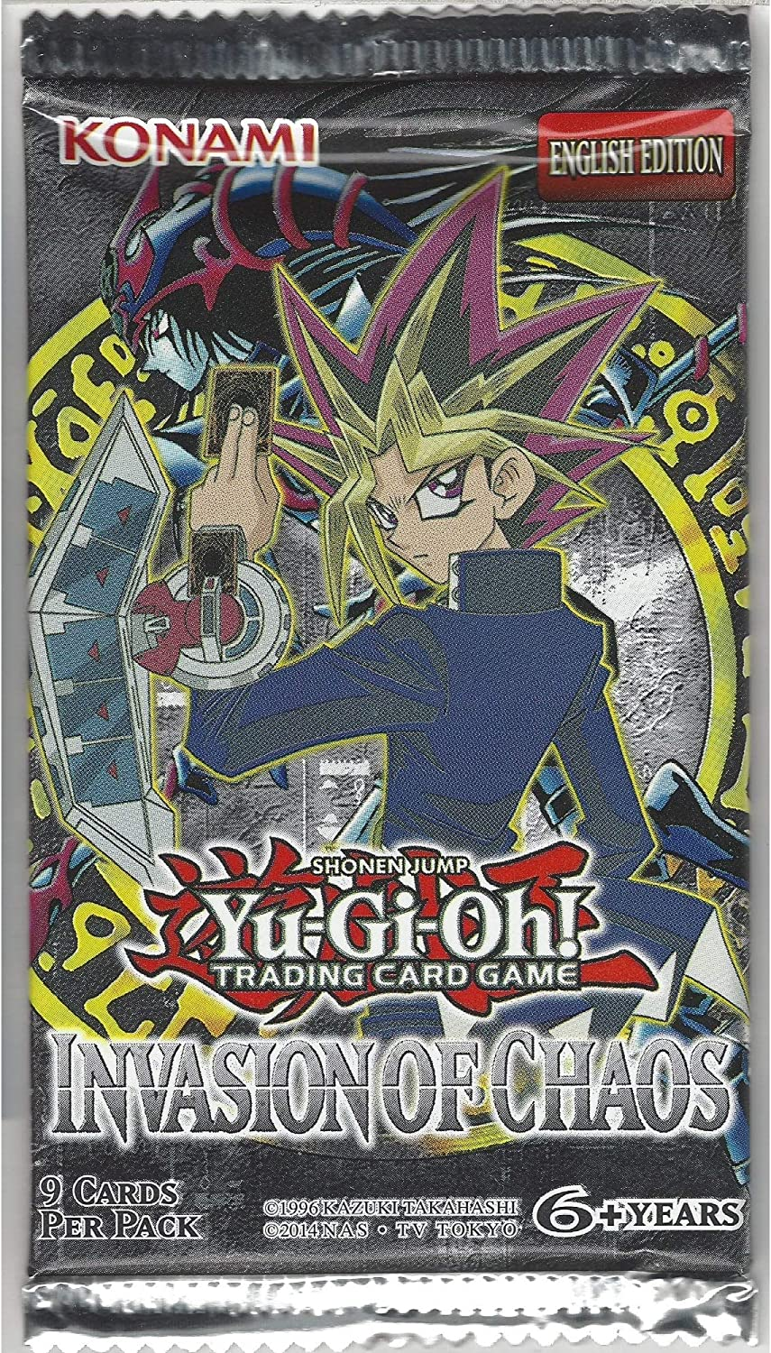 Yu-Gi-Oh! TCG: Invasion Of Chaos Blister Booster Pack
