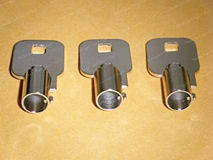 Amazon com: FEO-K1 Elevator Key Fire Service Keys 3-Keys