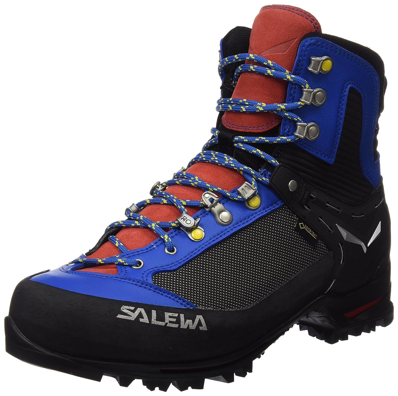 MultiCouleure (Mayan bleu Papavero) 44 EU Salewa Ms Raven 2 GTX, Chaussures de randonnée Homme