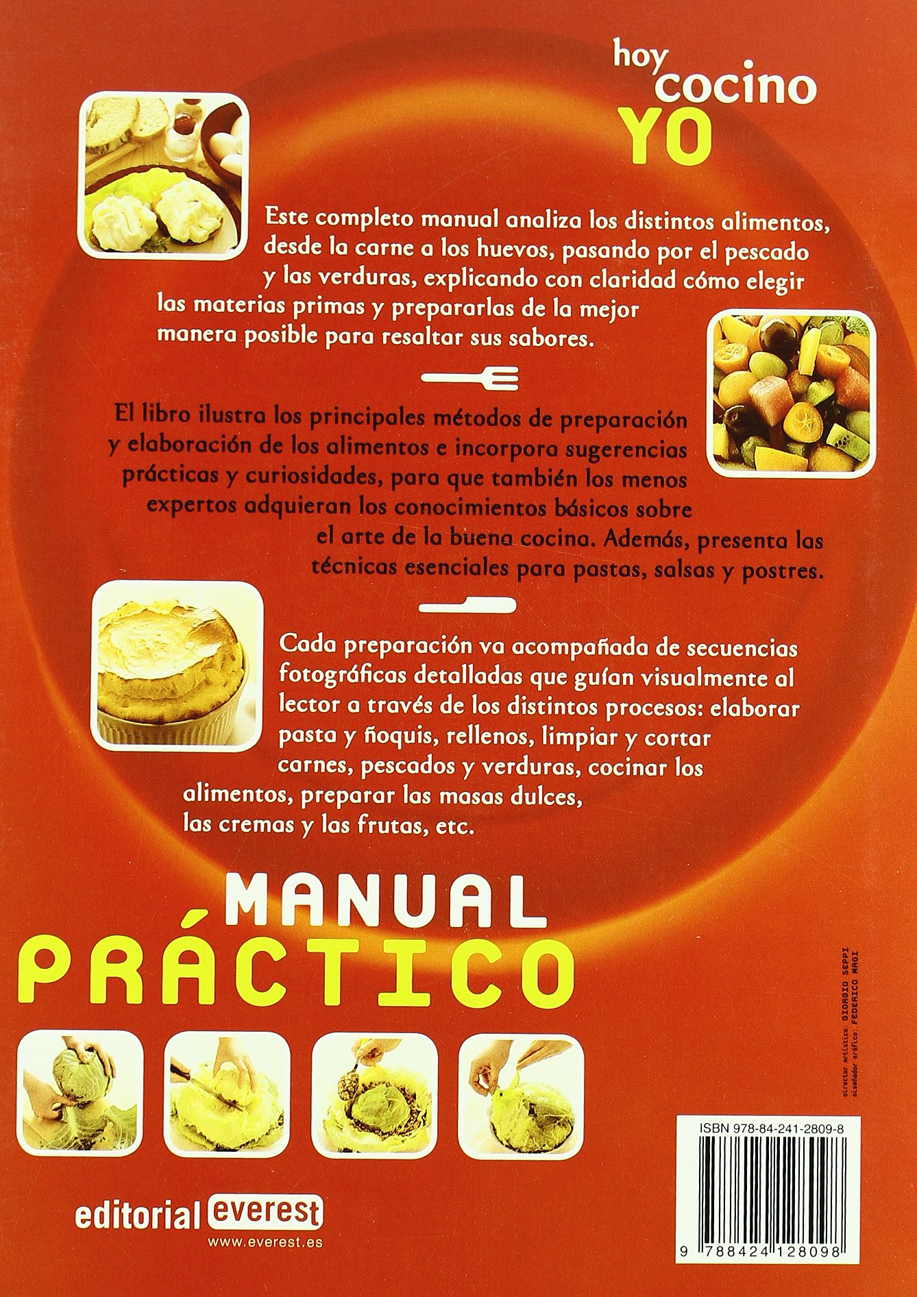 Hoy Cocino Yo, Manual Practico / Today I Cook, The Manual (Spanish Edition): Giuliana Bonomo, Pino Agostini, Fredi Marcarini: 9788424128098: Amazon.com: ...