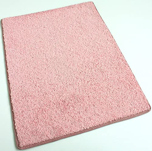 Koeckritz 9 X12 Oval Pink Kisses 25.5 oz 1 2 Thick Plush Cut Pile Indoor Carpet Area Rug