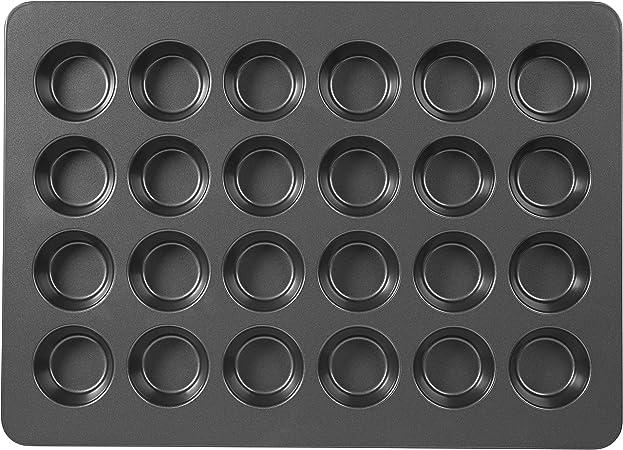 Wilton Muffin And Cupcake Baking Pan Perfect Results Mega Non Stick Standard 24 Cavity Amazon Ca Home Kitchen