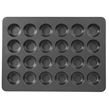 Wilton Non-Stick Mega Muffin and Cupcake Baking Pan, 24-Cup