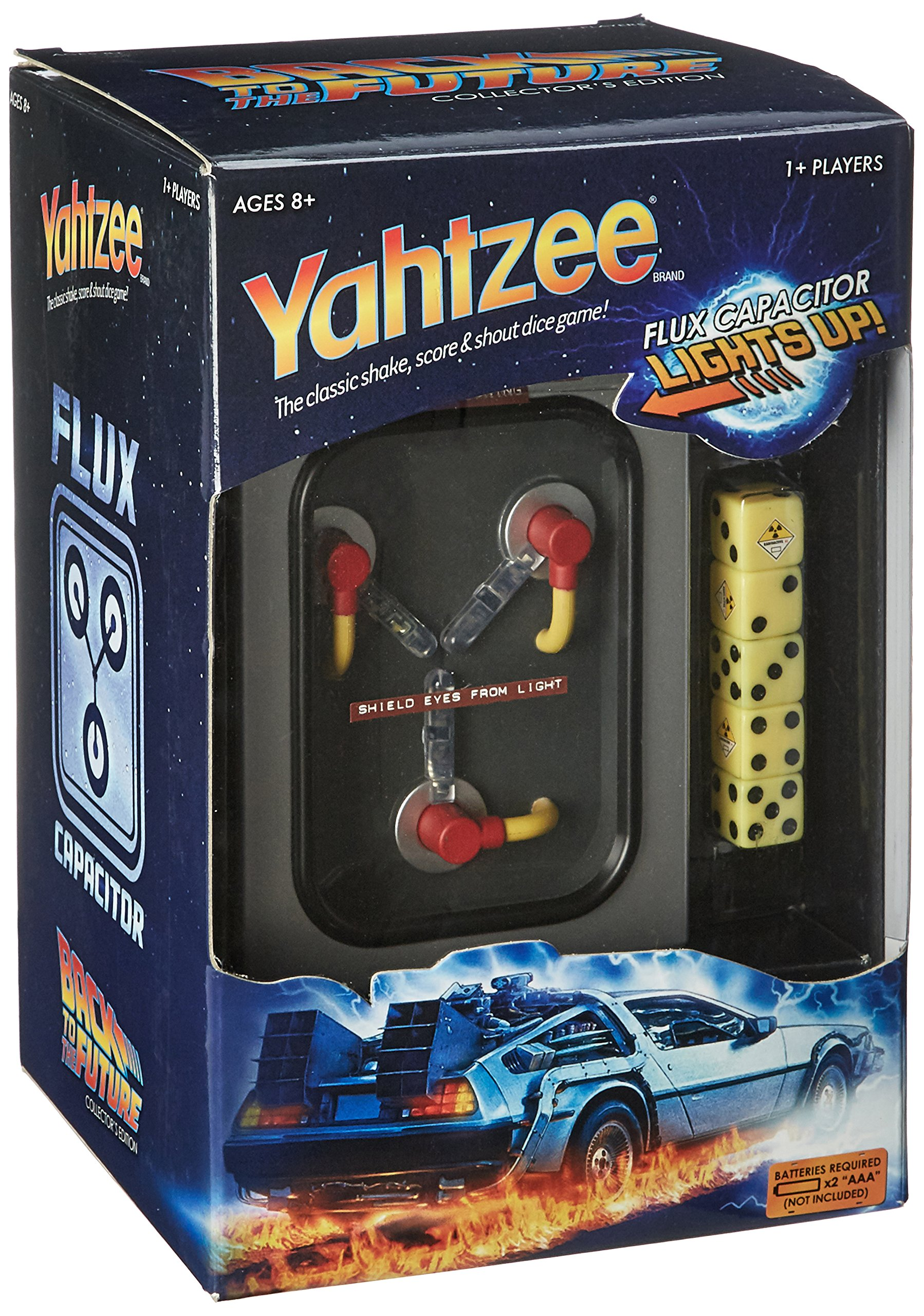 USAopoly YAHTZEE: Back to The Future Collector's Edition Board Game
