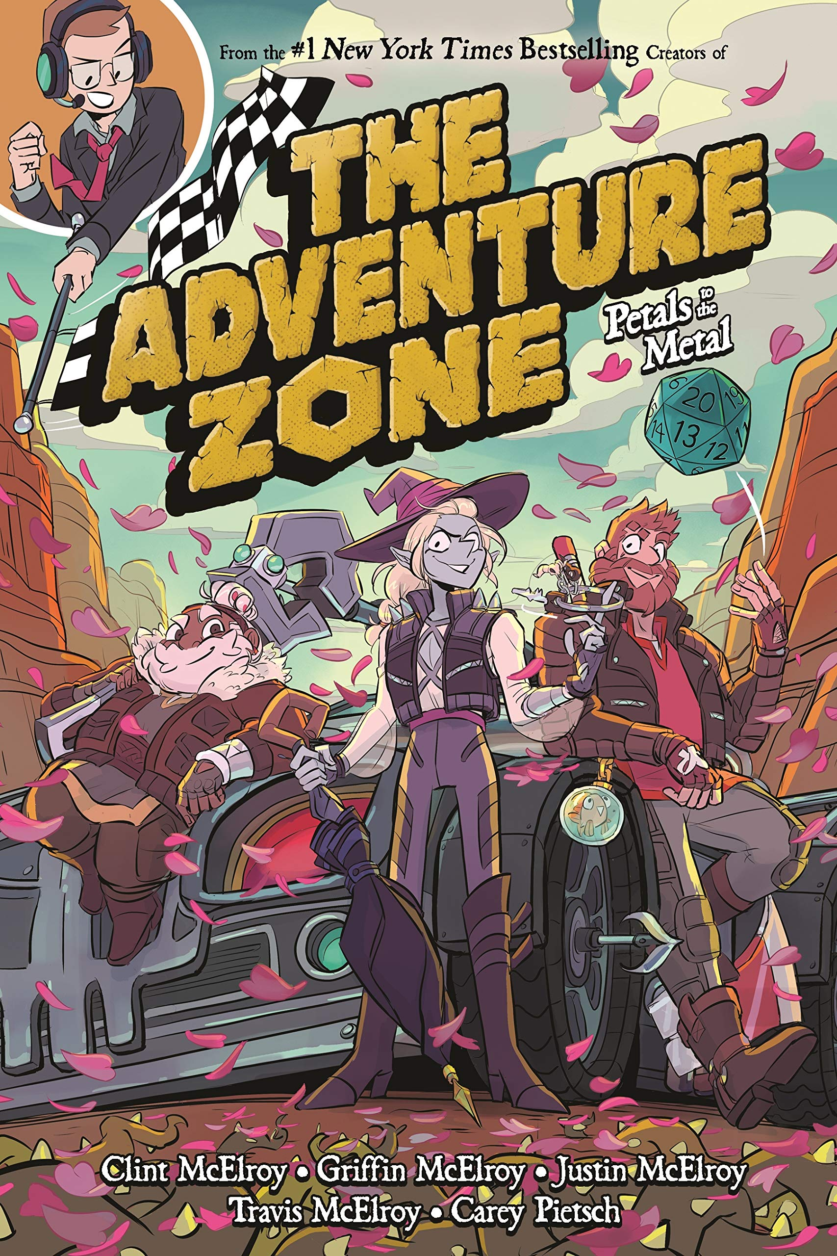 The Adventure Zone: Petals to the Metal by First Second
