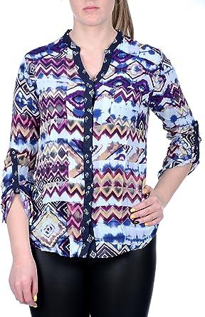 Desigual Camisa Menorca Multicolor: Amazon.es: Ropa y accesorios