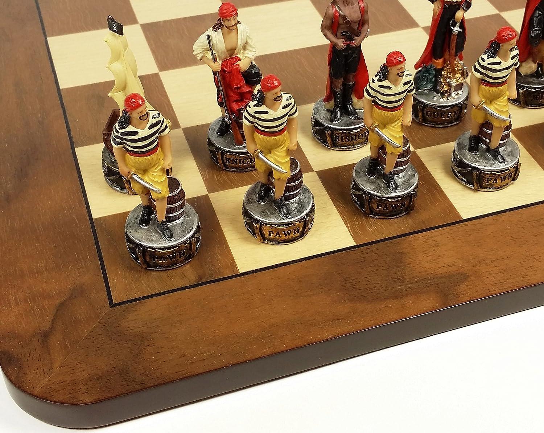 即納!最大半額! Pirates B07699W5TJ Vs Royal Navy Pirate Chess Men Set W Pirate Pirates/ 17