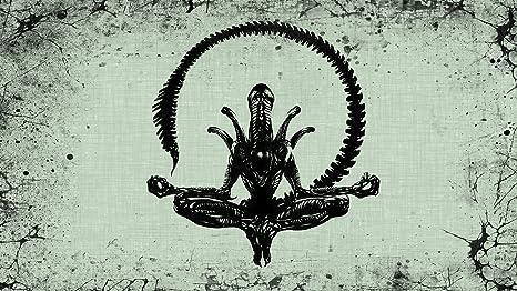 Posterhouzz Movie Alien Xenomorph Meditation Hd Wallpaper Background