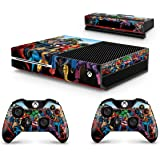 GNG Xbox One Console Marvel Skin Decal Vinal Sticker + 2 Xbox One Controller Skins & Kinect