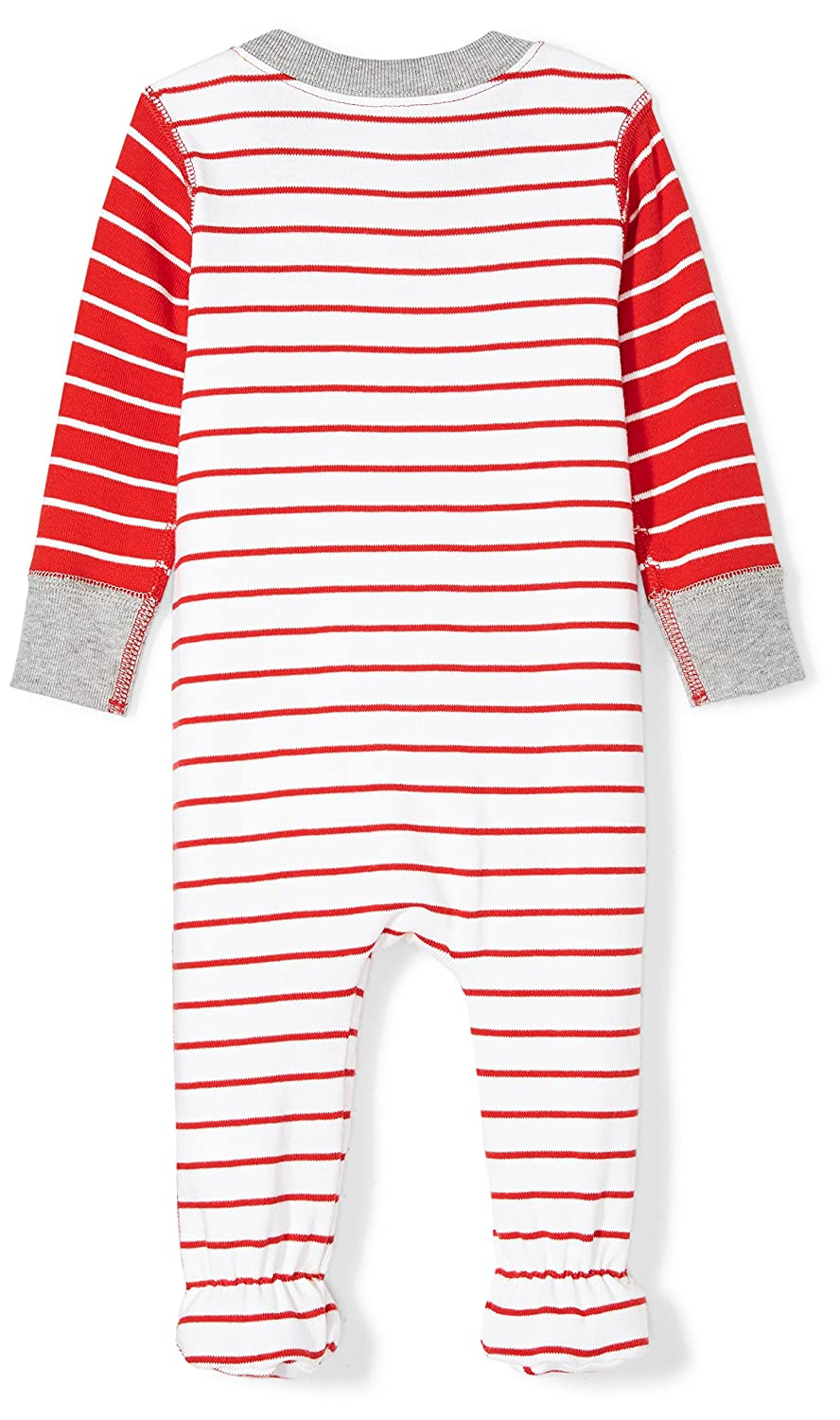 Moon and Back Boys Organic Footed Zip-Front Sleep and Play