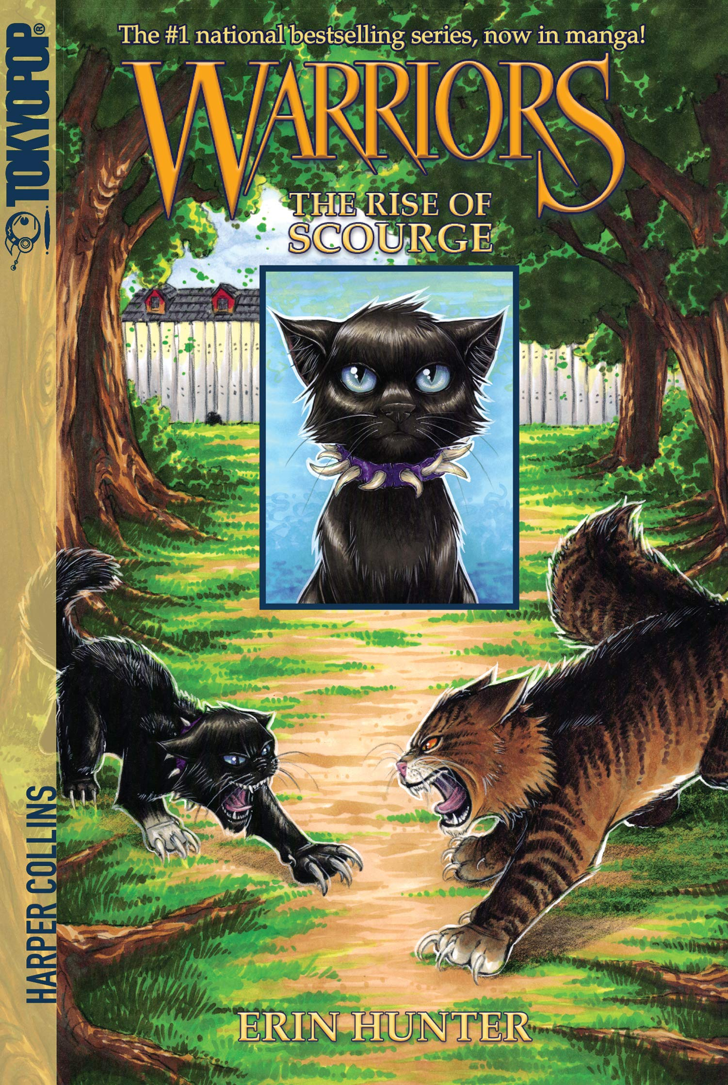 Warriors: The Rise of Scourge: Erin Hunter, Dan Jolley