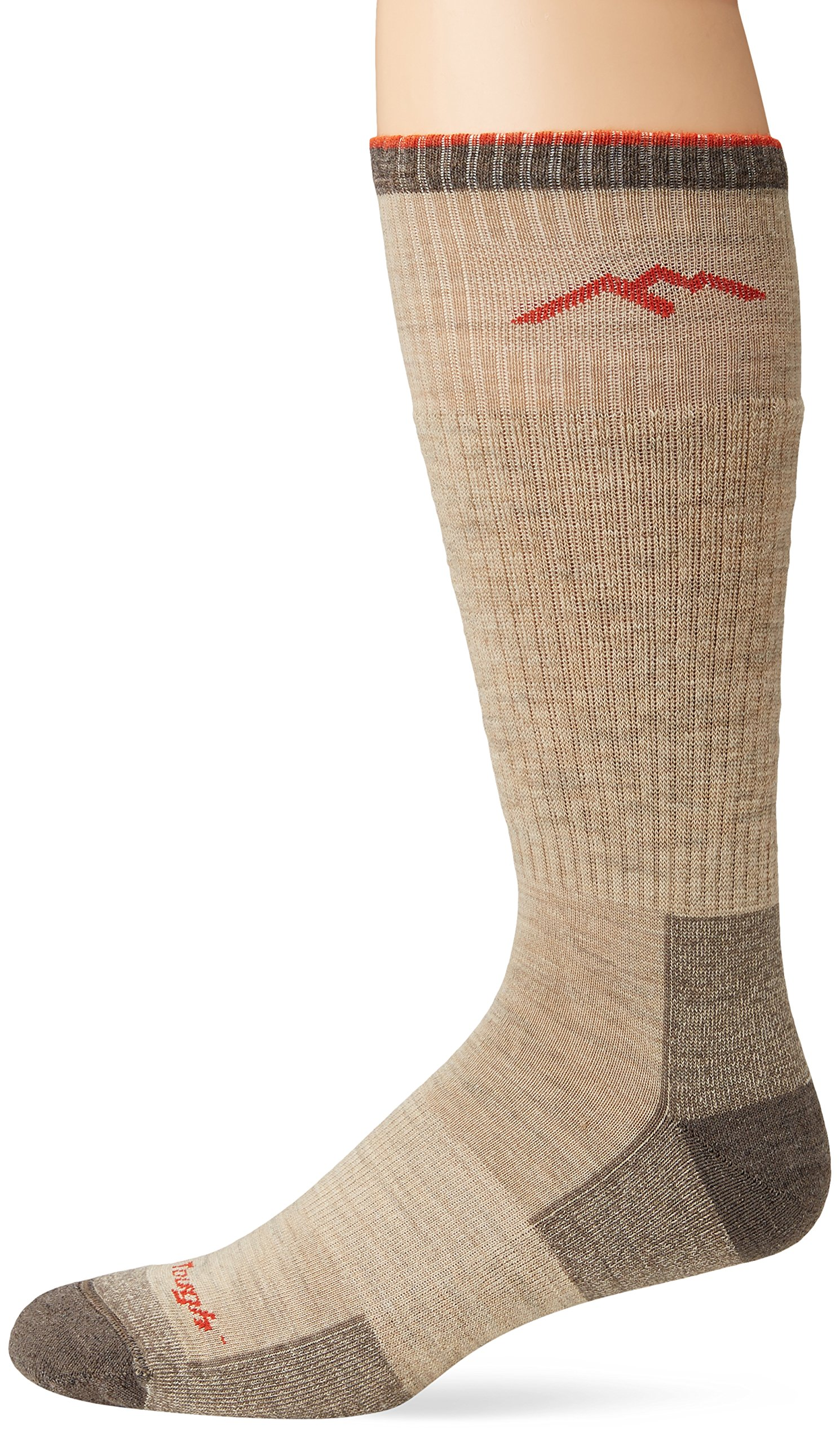 Darn Tough Vermont Men's Merino Wool Boot Cushion Hiking Socks, Oatmeal, X-Large by Darn Tough