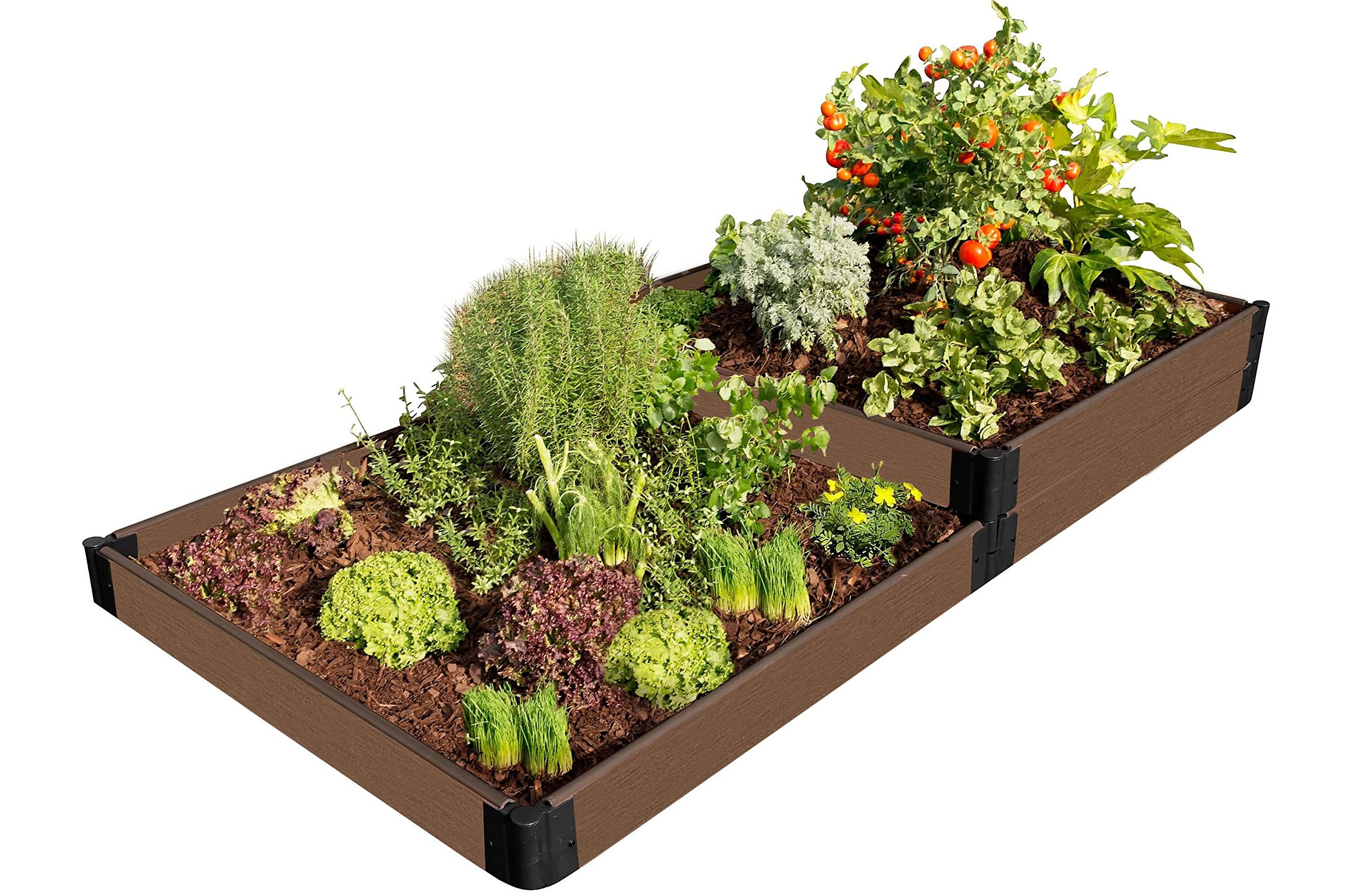 Frame It All 300001428 Raised Bed, Uptown Brown