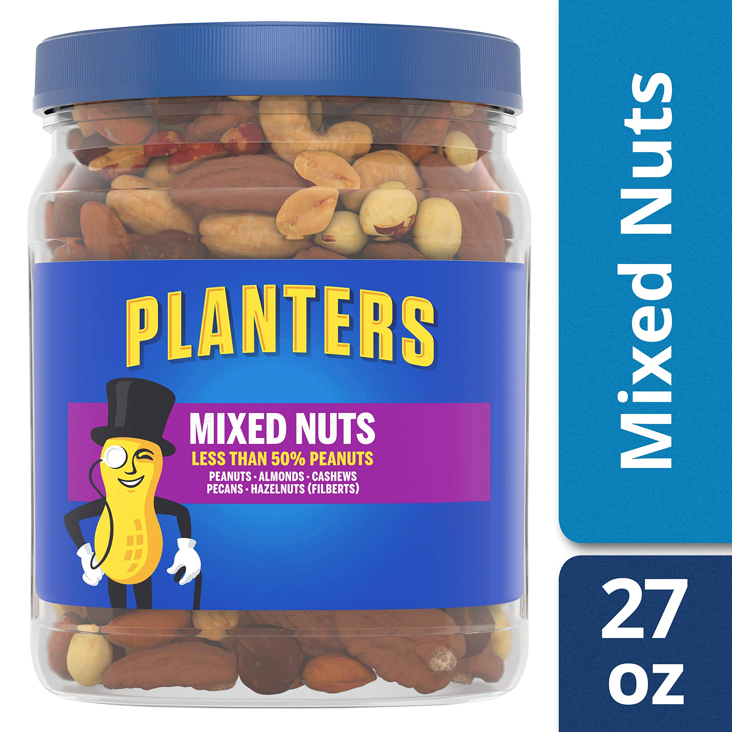 Planters Mixed Nuts, Regular Mixed Nuts, 1lb 11 Ounce Jar by Planters (Image #4)