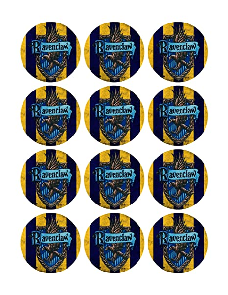 Amazon.com: Cupcake Toppers De Harry Potter Hogwarts ...