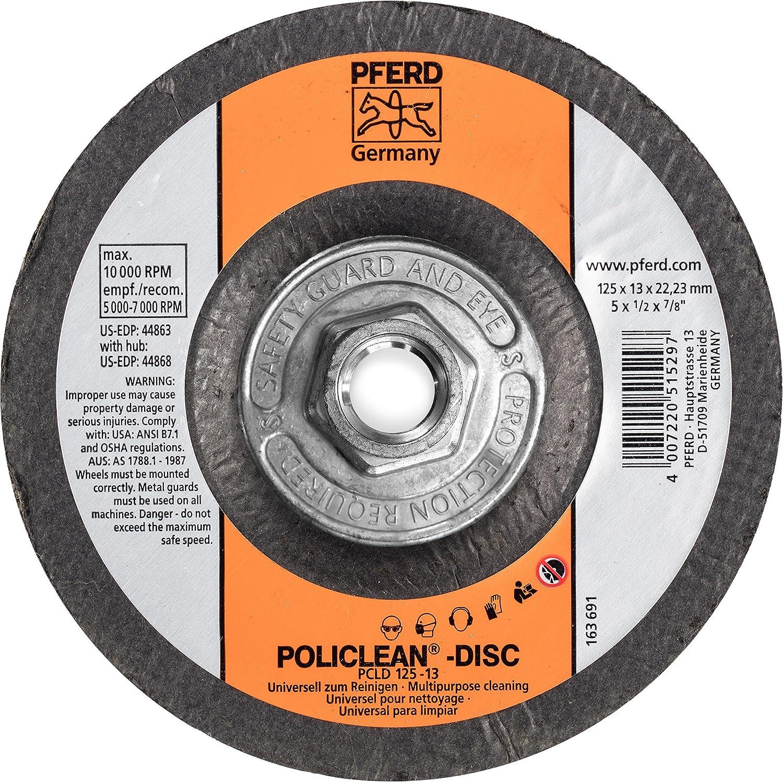 PFERD 44868 Policlean Non-Woven Abrasive Disc, 5
