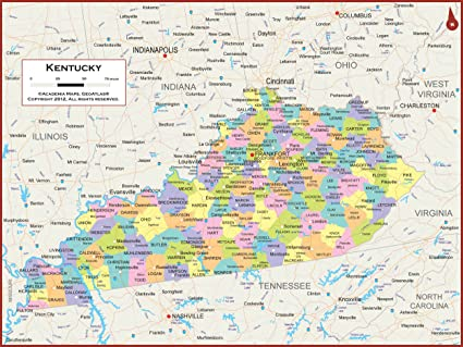 54 x 41 Large Kentucky State Wall Map Poster with Counties - Clroom Kentucky Poster State Map With Counties on kentucky zipcodes, kentucky tennessee airports, print map of kentucky counties, kentucky state capitol map, kentucky county map ky, kentucky county seat map, blank map of kentucky counties, kentucky state map detailed, indiana state map by counties, midwest state maps with counties, kentucky county map of counties, map of northern kentucky counties, indiana and illinois counties, kentucky state fish, state of kentucky counties, kentucky county map pdf, large map of kentucky counties, kentucky state travel map, kentucky county maps by worksheets, kentucky state map of ky,