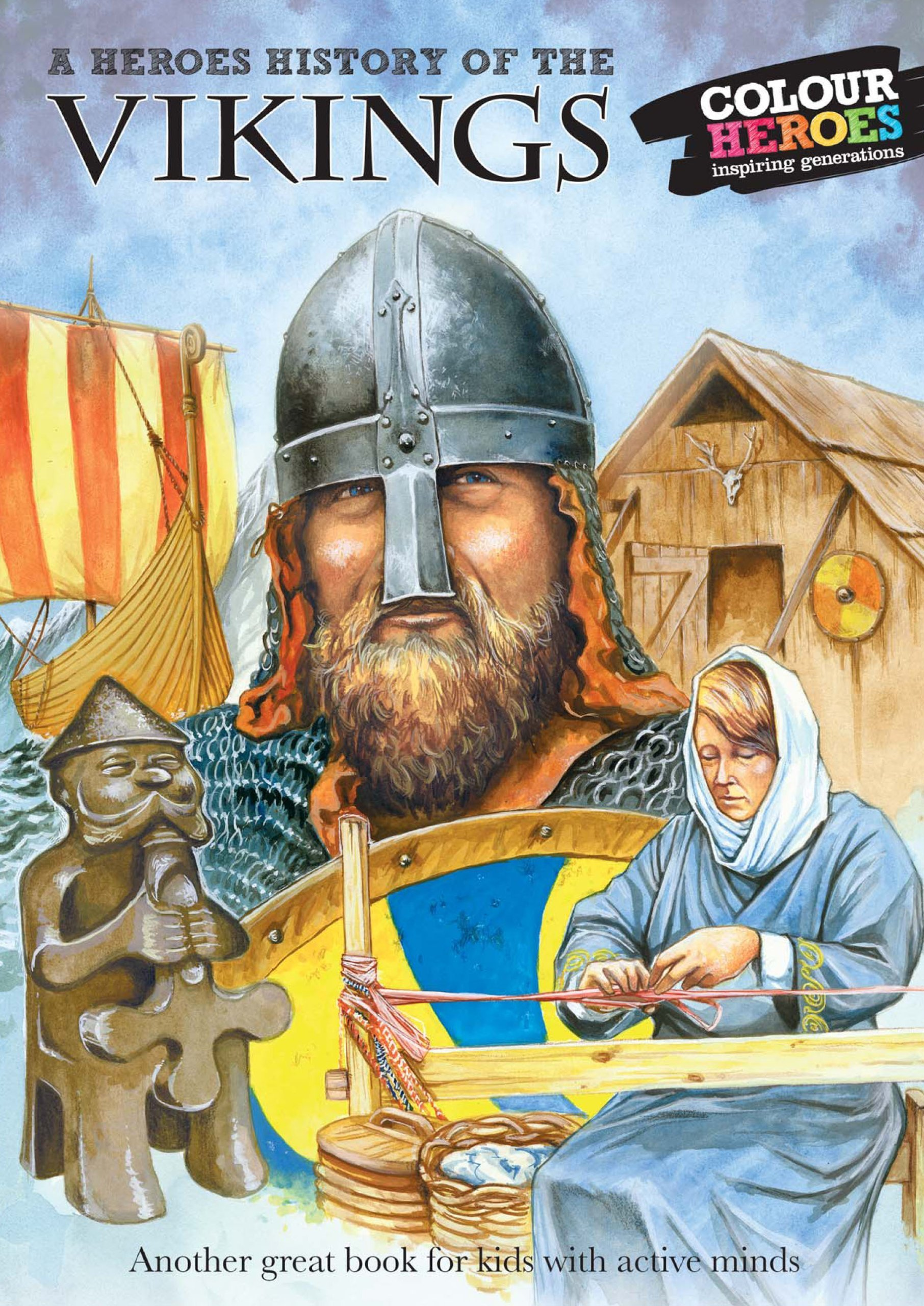 Download The Vikings: A Heroes History of PDF