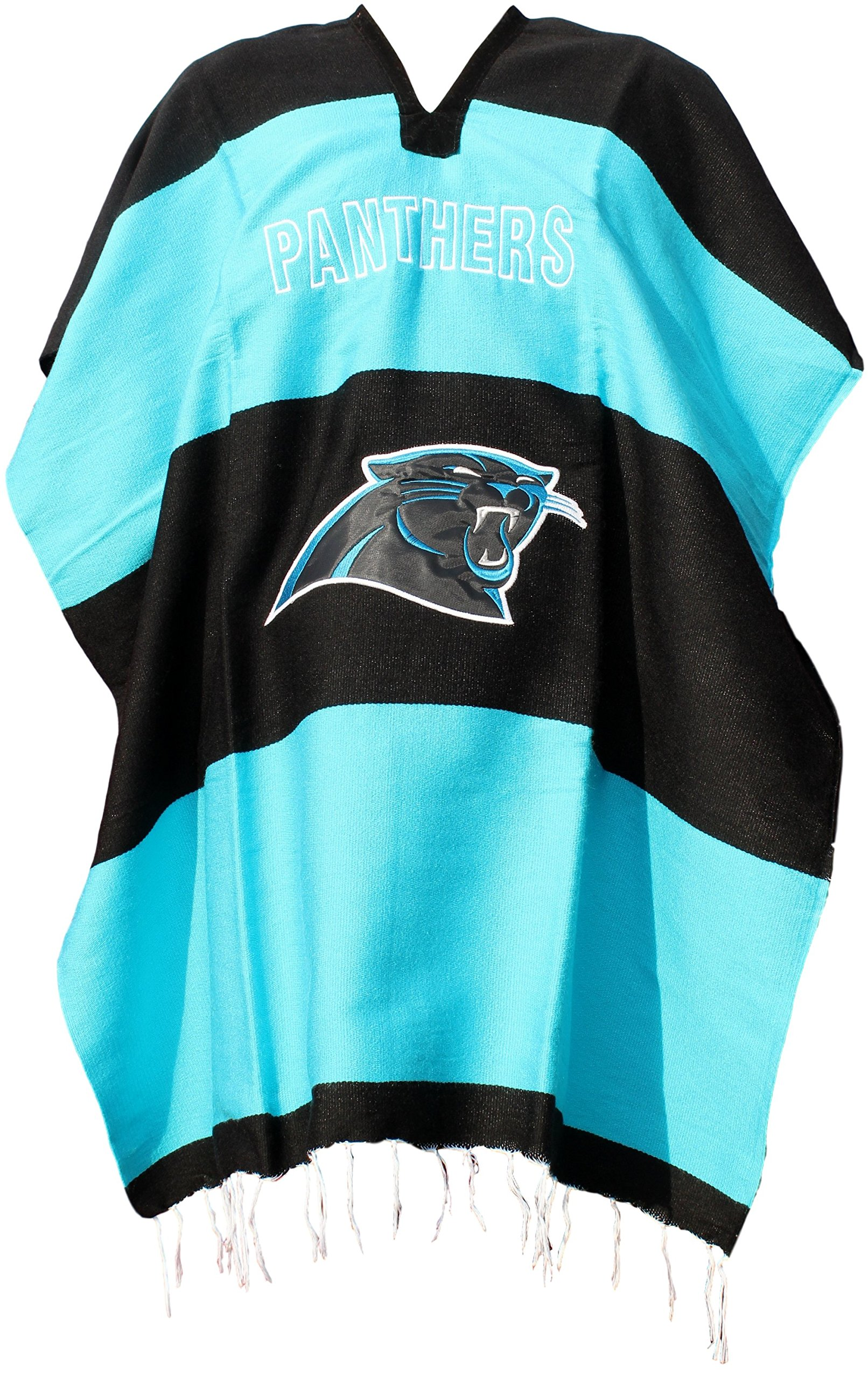 Trade MX Football Team Serape Poncho Adult Size (Panthers)