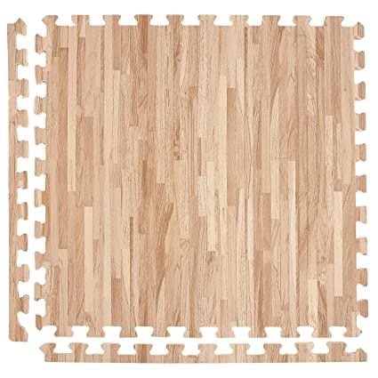 buy incstores soft wood foam tiles 2ft x 2ft interlocking floor