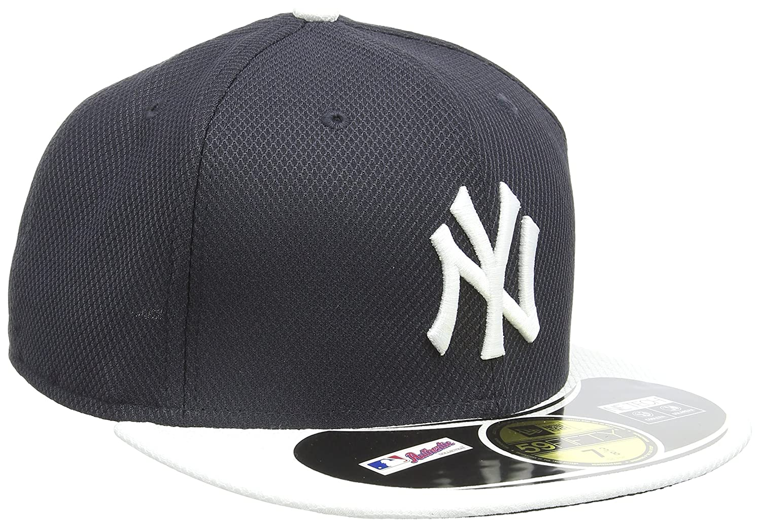 watch ce879 31056 Amazon.com   MLB New York Yankees Batting Practice 59Fifty Baseball Cap,  Navy White   Baseball And Softball Apparel   Clothing