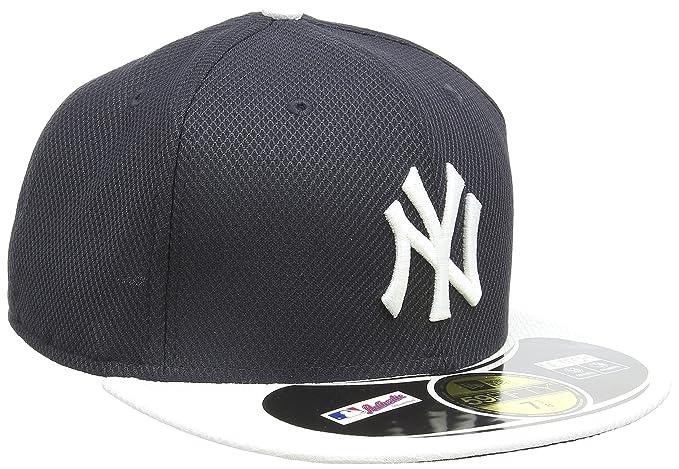 0e03188af MLB New York Yankees Batting Practice 59Fifty Baseball Cap, Navy/White