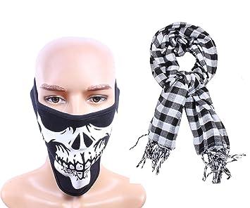 8231bbff234 Sushito Anti Pollution Millitary Design Men s Face Mask Combo Scarf ...
