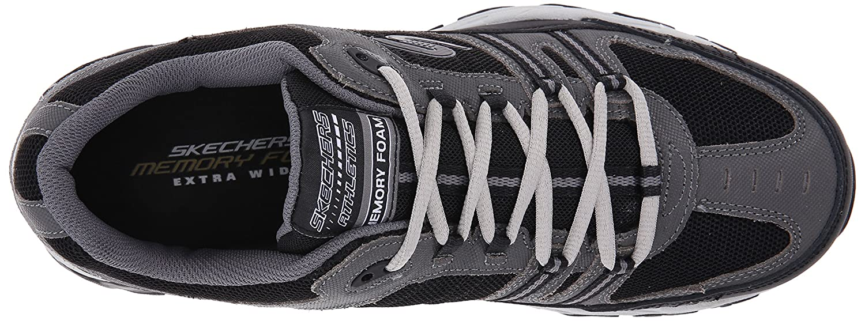 Skechers-Men-039-s-After-Burn-Memory-Fit-Strike-Off-Lace-Up-Sneaker thumbnail 30