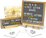 Felt Letter Board Set by MCS - 2 Gray Boards