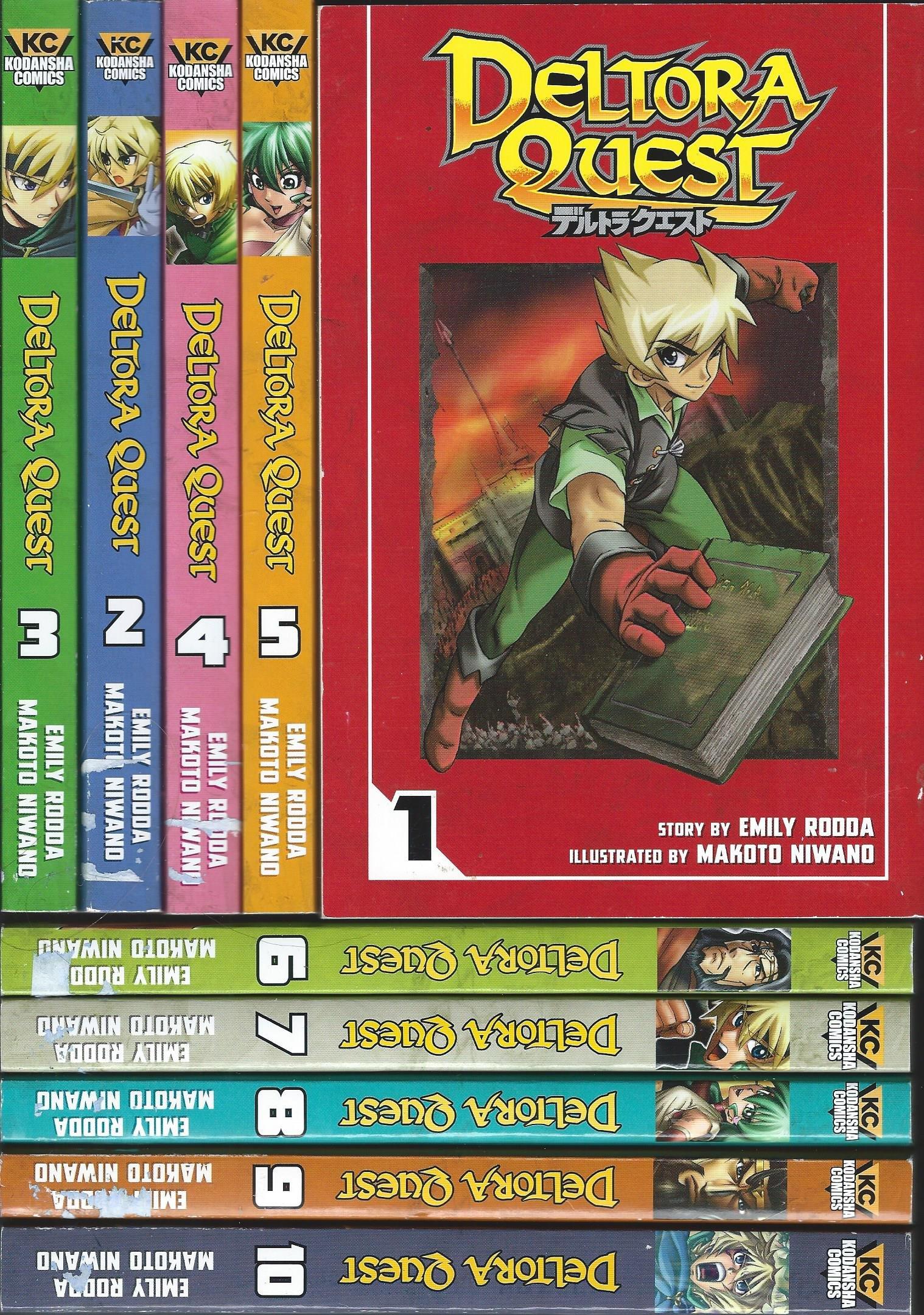 Deltora Quest Manga, Volumes 1-10 pdf