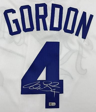 online retailer a755f 4f889 Alex Gordon Autographed White Royals Jersey