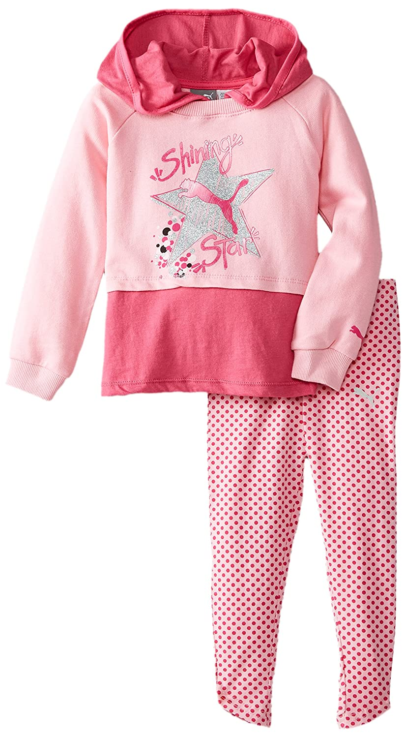 PUMA Girls' 2pc Hoodie and Legging Set PUMA Little Girls 1155072