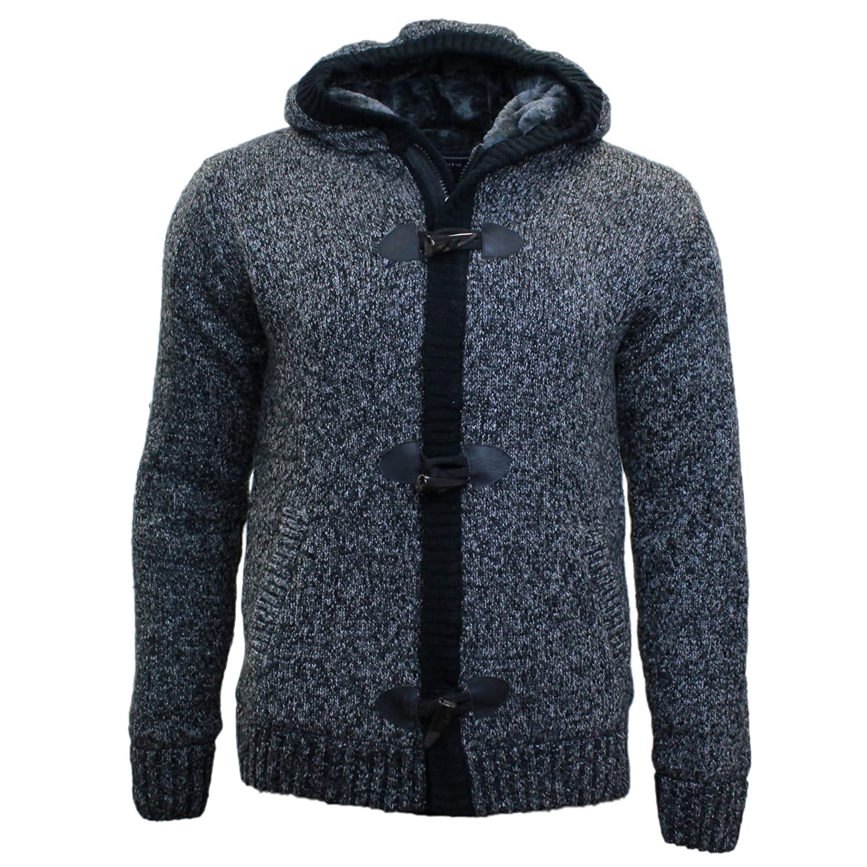 Saikang Men's Hood Cardigan grey grey