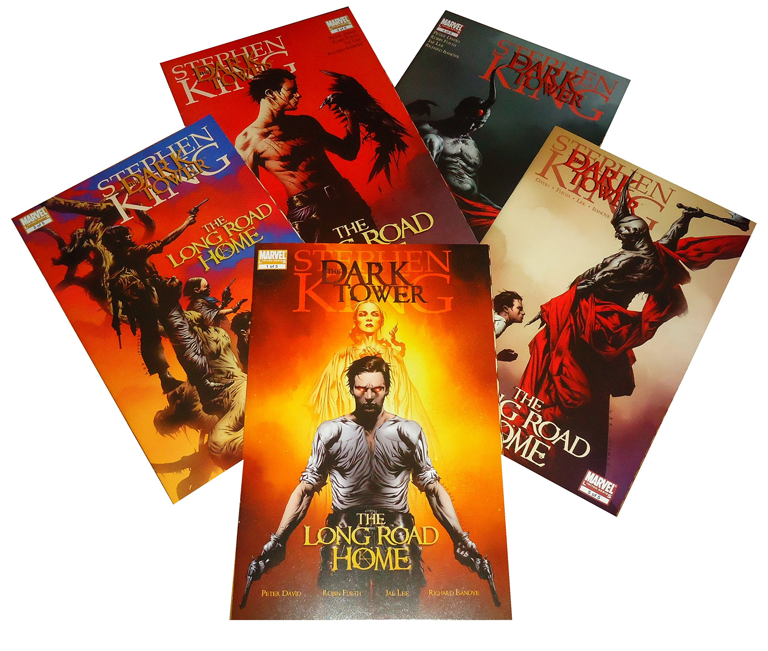 Dark Tower The Long Road Home 5 Issue 1st Print Comics Set pdf epub
