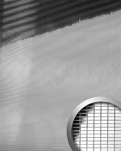 Panel decorativo autoadhesivo flexible mosaico rectangular XS WallFace 10652 M-Style con efecto espejo plata