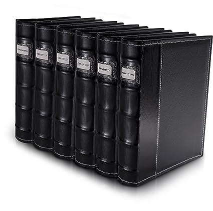 Delicieux Bellagio Italia Black DVD Storage Binder Set   Stores Up To 288 DVDs, CDs
