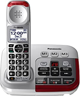 Amazon com: PANASONIC Cordless Telephone with Answering