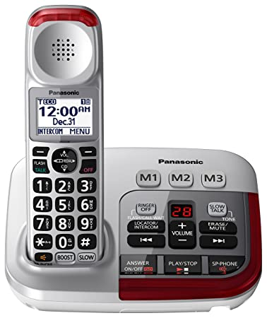 PANASONIC Amplified Cordless Phone with Digital Answering Machine -  KX-TGM450S - 1 Handset ( a641217035