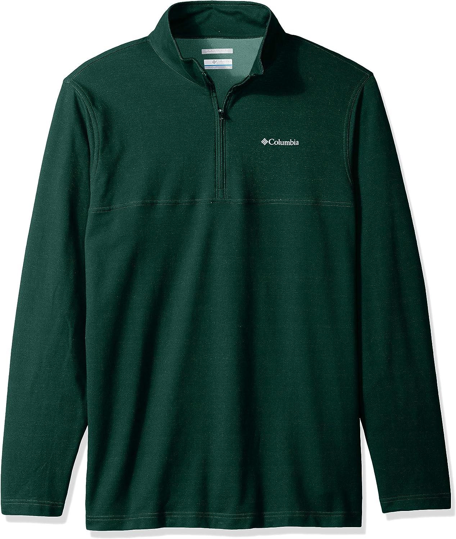 Columbia Mens Rugged Ridge 1//4 Zip Jacket Pullover Sweater